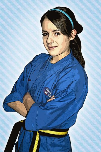 Mile High Karate Girl